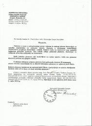 Dokument o pokretanju otkaza ugovora - Likaplus.hr