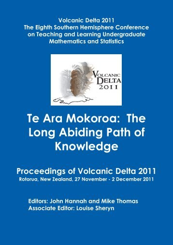 Proceedings of Volcanic Delta 2011 - Mathematics and Statistics ...