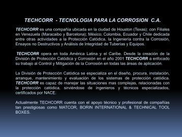 techcorr - tecnologia para la corrosion ca - bigsac