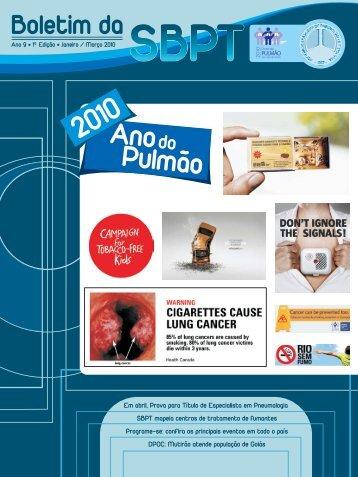 Anodo Pulmão - Sociedade Brasileira de Pneumologia e Tisiologia