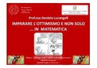 Relazione Prof.ssa Daniela Lucangeli - CTS-NTD di Milano