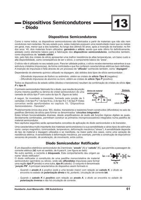E BAIXAR TRANSISTORES SEMICONDUTORES DISPOSITIVOS DIODOS