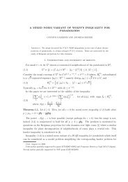 A MIXED NORM VARIANT OF WOLFF'S INEQUALITY FOR ...