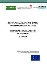 Study - ETUC