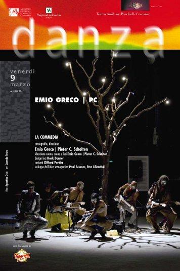 EMIO GRECO | PC - Teatro A. Ponchielli