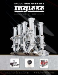 Inglese Induction Systems - Rev's Engineering
