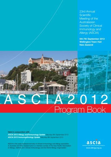 Download Program Book - ASCIA 2012