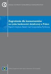 Zagro˝enia dla konsumentów - Urząd Ochrony Konkurencji i ...