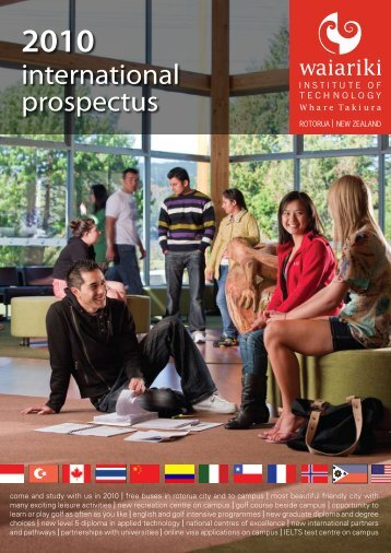 international prospectus - Waiariki School of Forestry and Primary ...
