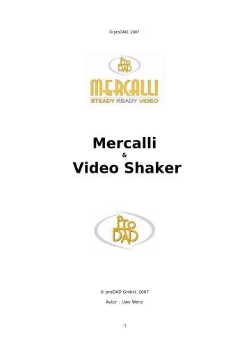 Mercalli Video Shaker