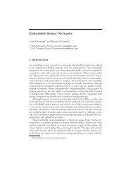 Embedded Sensor Networks - CiteSeerX