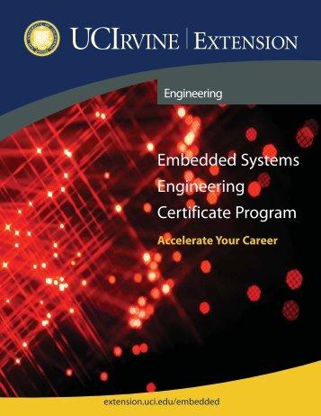 Embedded Systems Engineering Certificate Program - UC Irvine ...