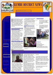 Illembe district newsletter : November 2009