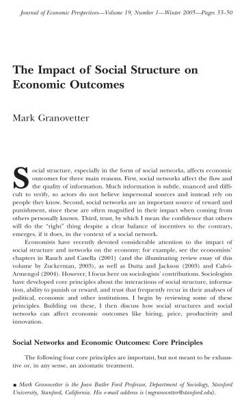 social legal and economic impact of
