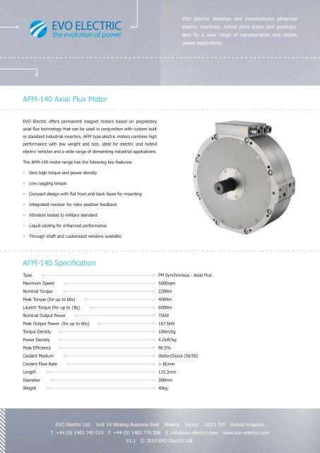 Axial Motor