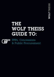THE WOLF THEISS GUIDE TO: