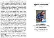 Parcours - Sylvie Guillemé Artiste Peintre
