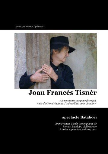 Télécharger ce fichier - Joan Francés Tisnèr