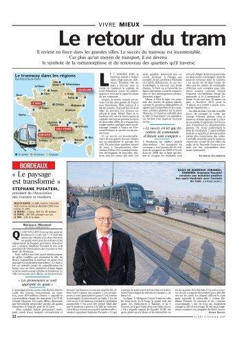 le-tramway-a-bouleverse-les-villes-aujourd-hui - Gérard Chausset