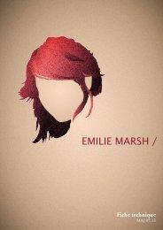 Fiche technique - Emilie Marsh
