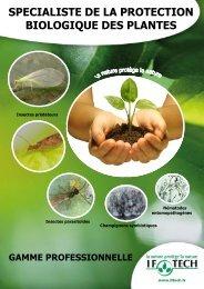 specialiste de la protection biologique des plantes - If-tech.fr