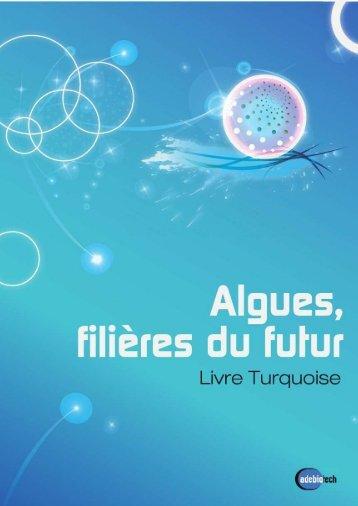 Livre Turquoise – Algues, filières du futur - Adebiotech