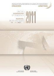 manuel de statistiques tistiques de la cnuced unctad handbook of ...
