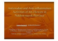 Antioxidant and Anti-inflammation Activities of Six Flowers in ...