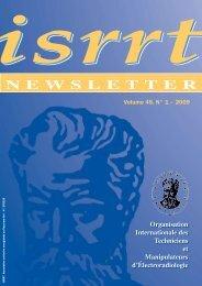 NEWSLETTER - ISRRT