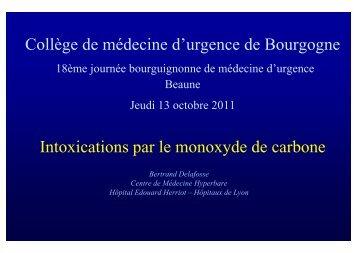 Dr Bertrand Delafosse - CMUB