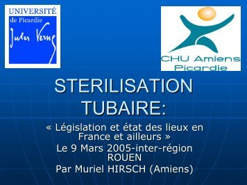 Sterilisation tubaire final