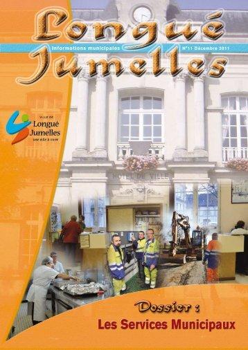 Informations municipales - Longué-Jumelles