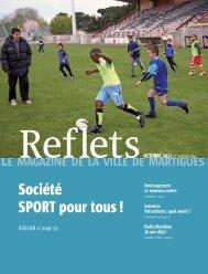 Société SPORT pour tous ! - Ville de Martigues