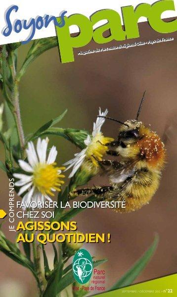 AGISSONS AU QUOTIDIEN ! - Parc naturel régional Oise - Pays de ...