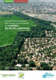 Guide des Lisières - Agence des espaces verts d'Ile de France