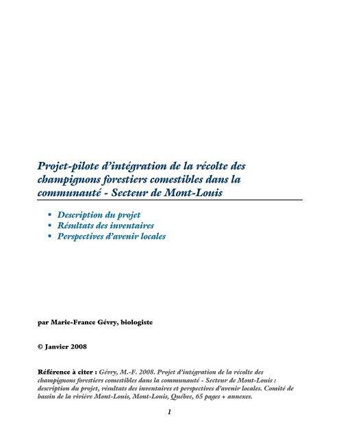 Projet d'intégration de la récolte des champignons - Agri-Réseau