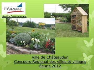 Concours villes et villages fleuris 2012 - Châteaudun