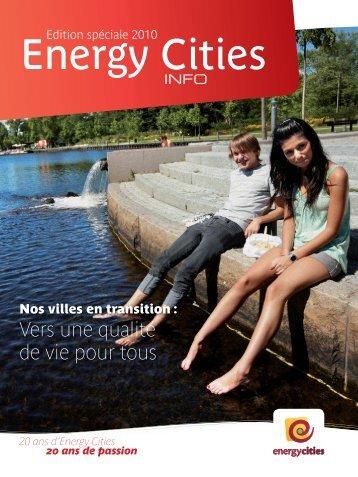 Energy Cities Info - Edition spéciale anniversaire 2010
