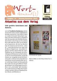 Wort-Gewand(t) 18.pmd - Projekte-Verlag Cornelius
