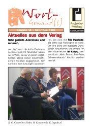 Wort-Gewand(t) 10.pmd - Projekte-Verlag Cornelius