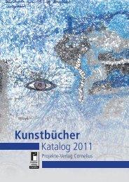 Kunstbücher - Projekte-Verlag Cornelius