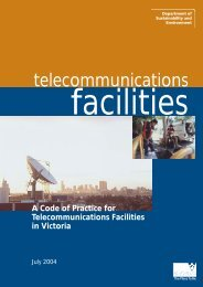 A Code of Practice for Telecommunications Facilities in