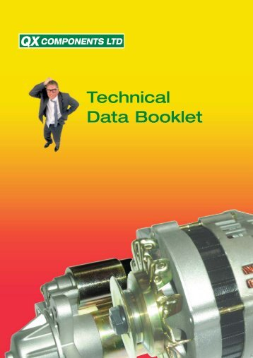 Technical Data Booklet - QX Components