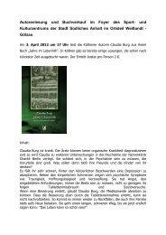 Amtsblatt Anhalt-Bitterfeld - Projekte-Verlag Cornelius