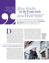 Was bleibt - Projekte-Verlag Cornelius