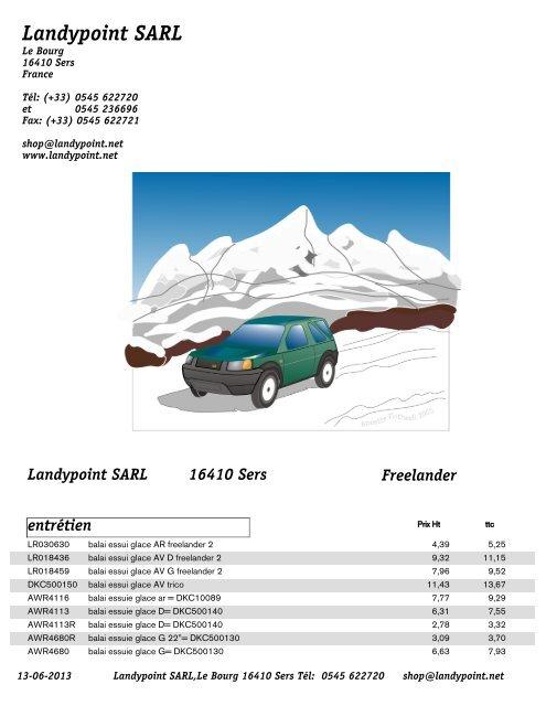 Genuine Land Rover Freelander Coffre Arrière Essuie-Glace Moteur 1997-2006