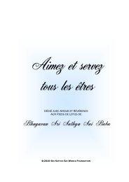 Aimez et Servez tous les êtres - Prema - La revue de l'Organisation ...