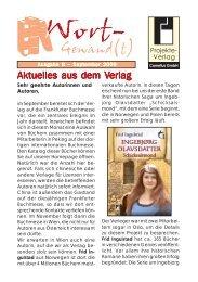 Wort-Gewand(t) 8.pmd - Projekte-Verlag Cornelius