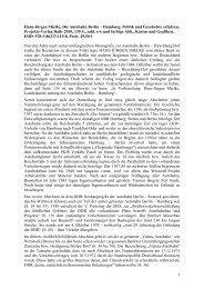 Mielke, Berlin-Hamburg - Projekte-Verlag Cornelius