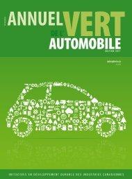 'Annuel vert de l'automobile 2011 - Autosphere